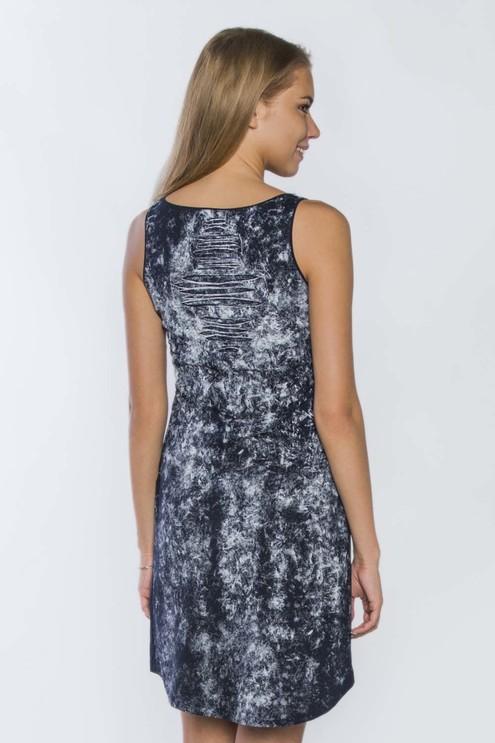 """Платье """"ELEGANCE"""", темно-синяя"""